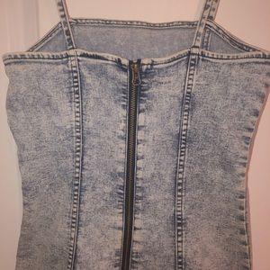 Jean Fabric Dress